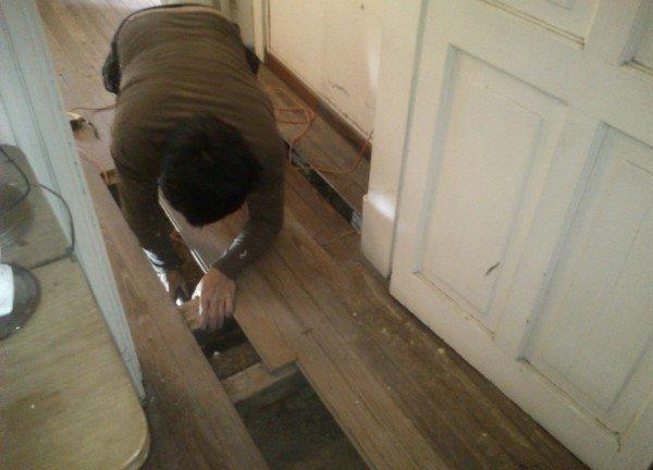Подготовка деревянного пола перед ремонтом
