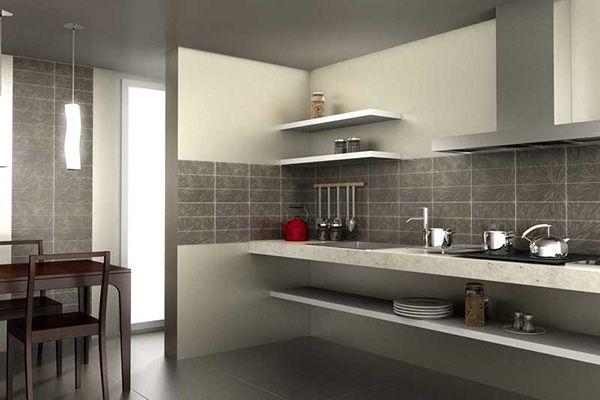 Конструкйия фартука на кухне не несложная, но она требут аккуратности при укладке