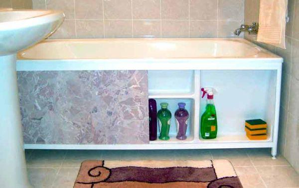 Экраны для ванны как сделать самому