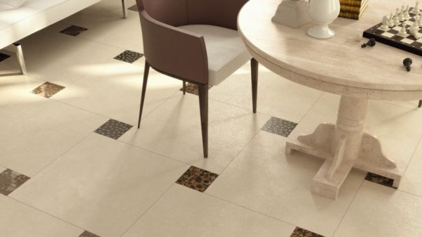 Плитка напольная с матовой поверхностью добавляет комнате уют