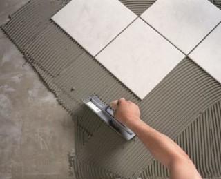 Правильная толщина слоя клея при укладке плитки