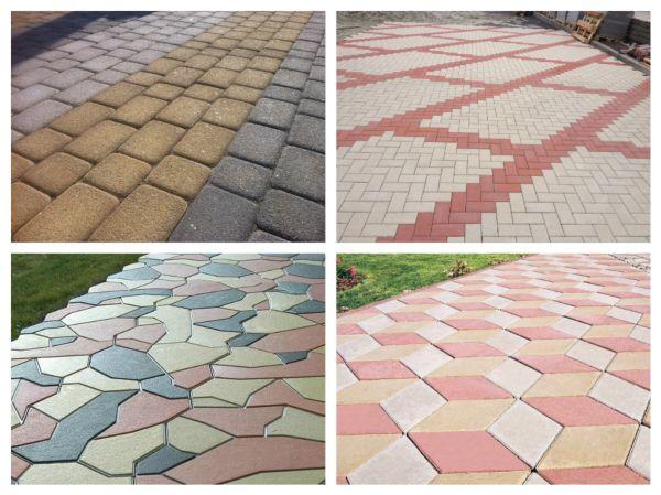Изготовить тротуарную плитку своими руками вполне возможно и не особенно трудно