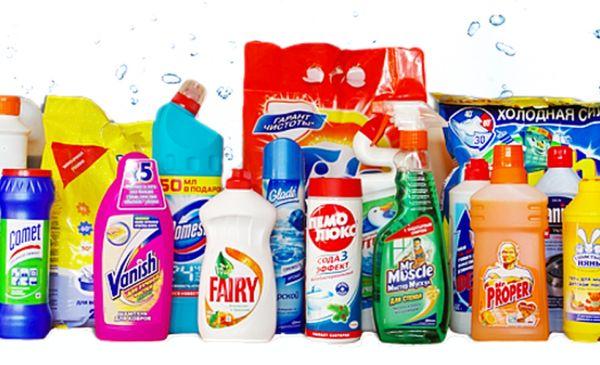 Такие средства удаляют жировой, известковый и мыльный налёт с различных поверхностей в ванной