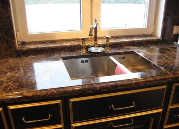 Столешницы для кухни можно сделать из разных материалов