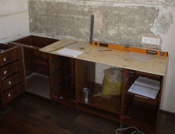 Столешницы для кухни своими руками из плитки