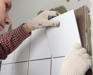 Грамотное приклеивание плитки на стену в ванной от А до Я