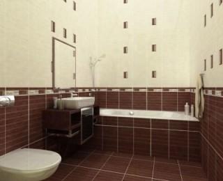 Красиво жить не запретишь, если знаешь как эффектно положить плитку в ванной