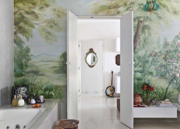 Оригинальный интерьер ванной - Фотопринт