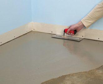 Как качественно выровнять пол под укладку плитки
