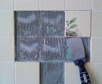 Как демонтировать со стен керамическую плитку