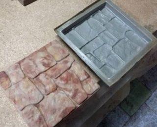 Изготовление формы для тротуарной плитки самому: это реально