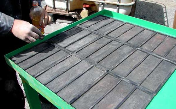 Формы для плиток из глины
