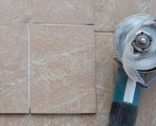 Как резать керамику болгаркой