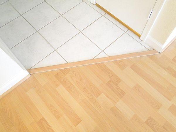 На фото представлен обычный прямой стык