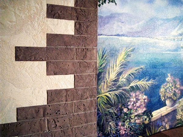 Клинкерная плитка под кирпич может использоваться для внутренней отделки помещения