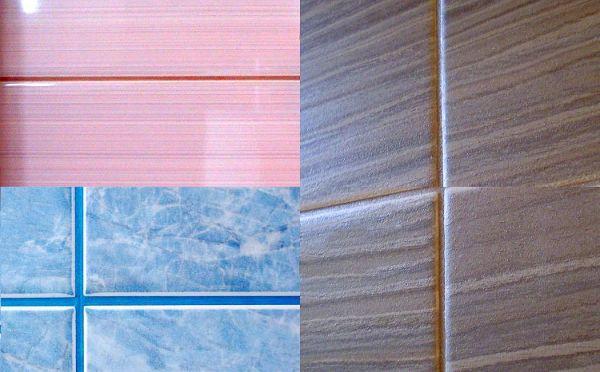 Выбор цвета затирки для плитки