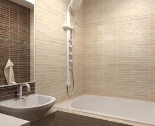 Маленькая ванная — большие проблемы: как правильно подобрать плитку для небольшой комнаты