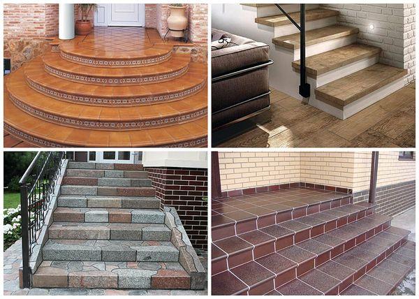 Разновидности входных лестниц