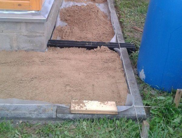 песчанная подушка