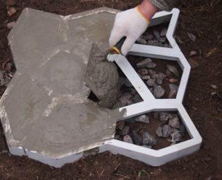 Технология изготовления тротуарной плитки своими руками