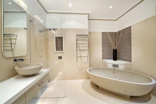 Оформление ванной продукцией Estima