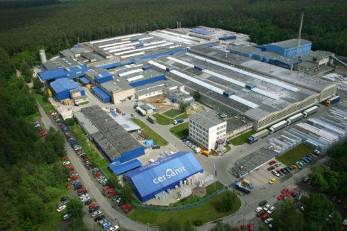Компания владеет заводами в нескольких стрнанах