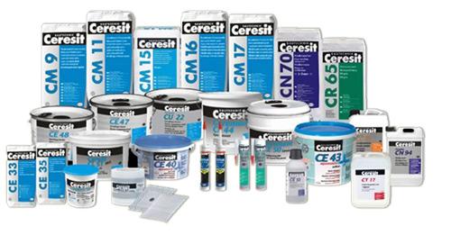Разнообразие стройматериалов от Ceresit