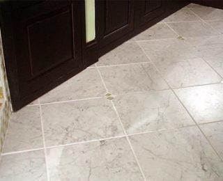 Диагональный способ укладки плитки на пол