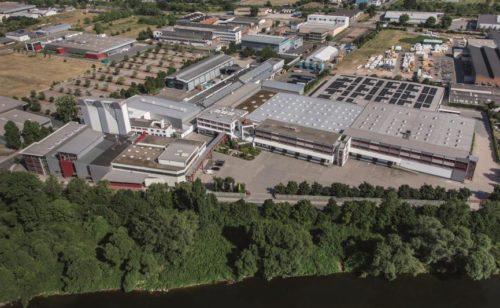 Завод по производству стройматериалов компании Dufa