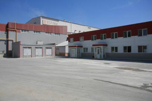 Завод производителя керамогранита Estima