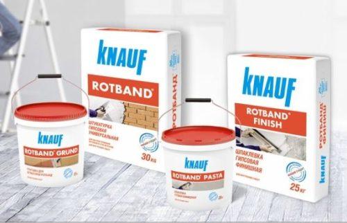 Стройматериалы от компании Knauf