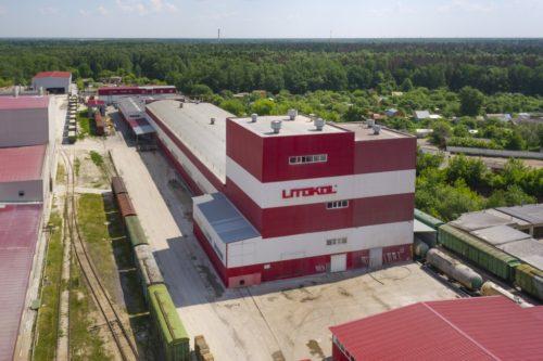 Завод по производству стройматериалов компании Litokol