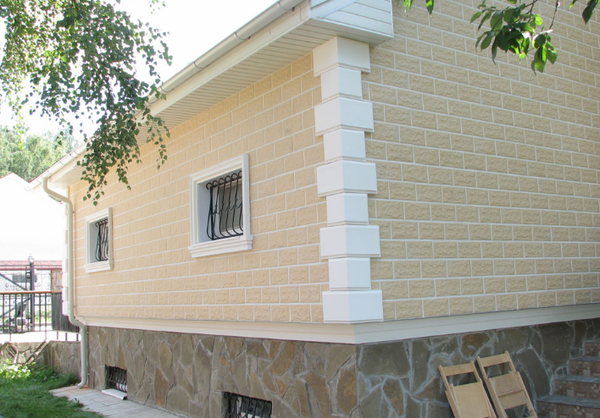 Дизайн отделки домов термопанелями