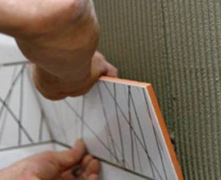 Облицовка стен керамической плиткой своими руками