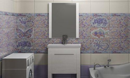 """Плитка компании """"Сокол"""" для ванной комнаты"""