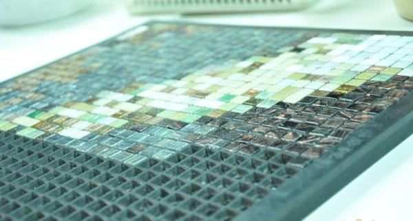 Изготовление мозаичной плитки своими руками 84