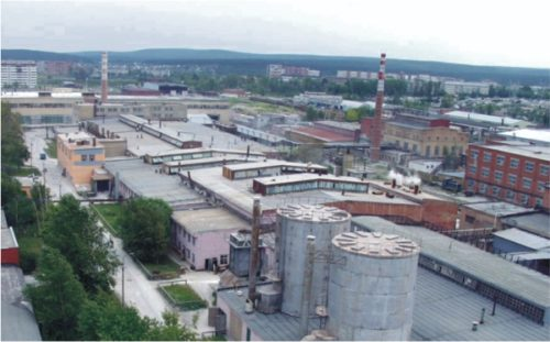 "Завод ""Уралкерамика"" в Екатеринбурге"