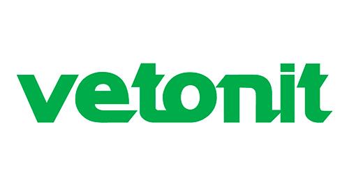 """Логотип французской компании-производителя стройматериалов """"Vetonit"""""""