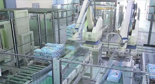 """Завод компании-производителя стройматериалов """"Vetonit"""""""