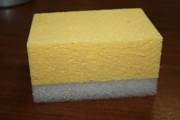 Комбинированная целлюлозная губка