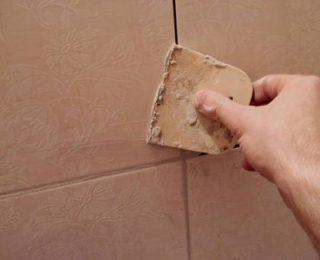 Как затирать швы керамической облицовки