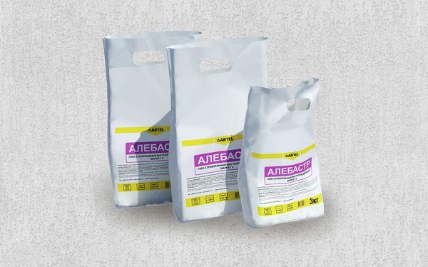 Сухая клеевая смесь на алебастровой основе обеспечивает высокую адгезию