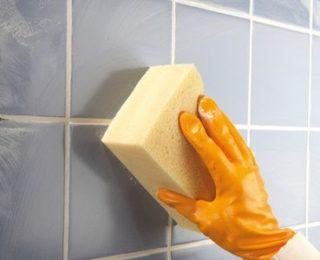 Отмываем керамическую плитку: способы и средства