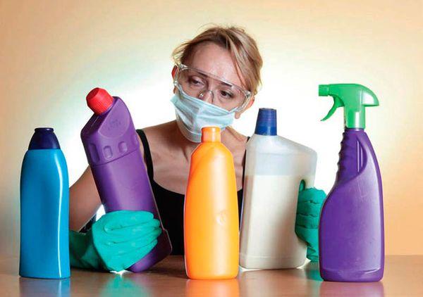 химические средства для чистки