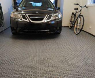 Пол в гараже: виды напольной плитки, выбор оптимального покрытия