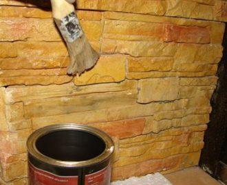 Лаковое покрытие для гипсовой плитки