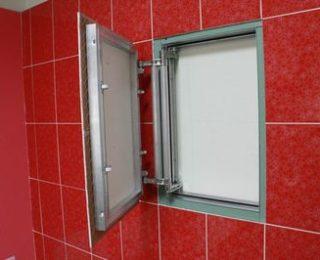 Люки для ванной комнаты под отделку плиткой