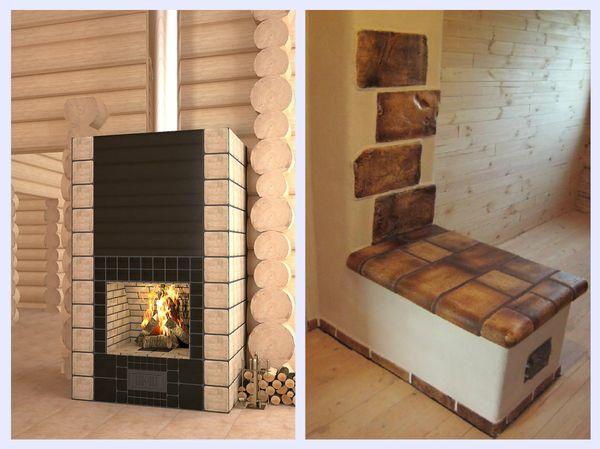 Шамотная огнеупорная плитка для каминов