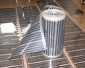 Инфракрасный тёплый пол под напольную плитку, как современный вид системы отопления