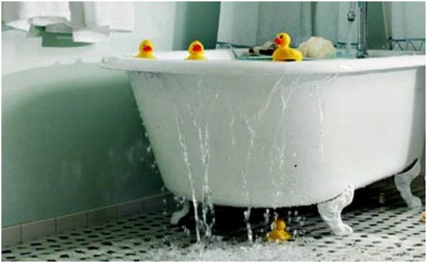 затопления из ванной квартиры